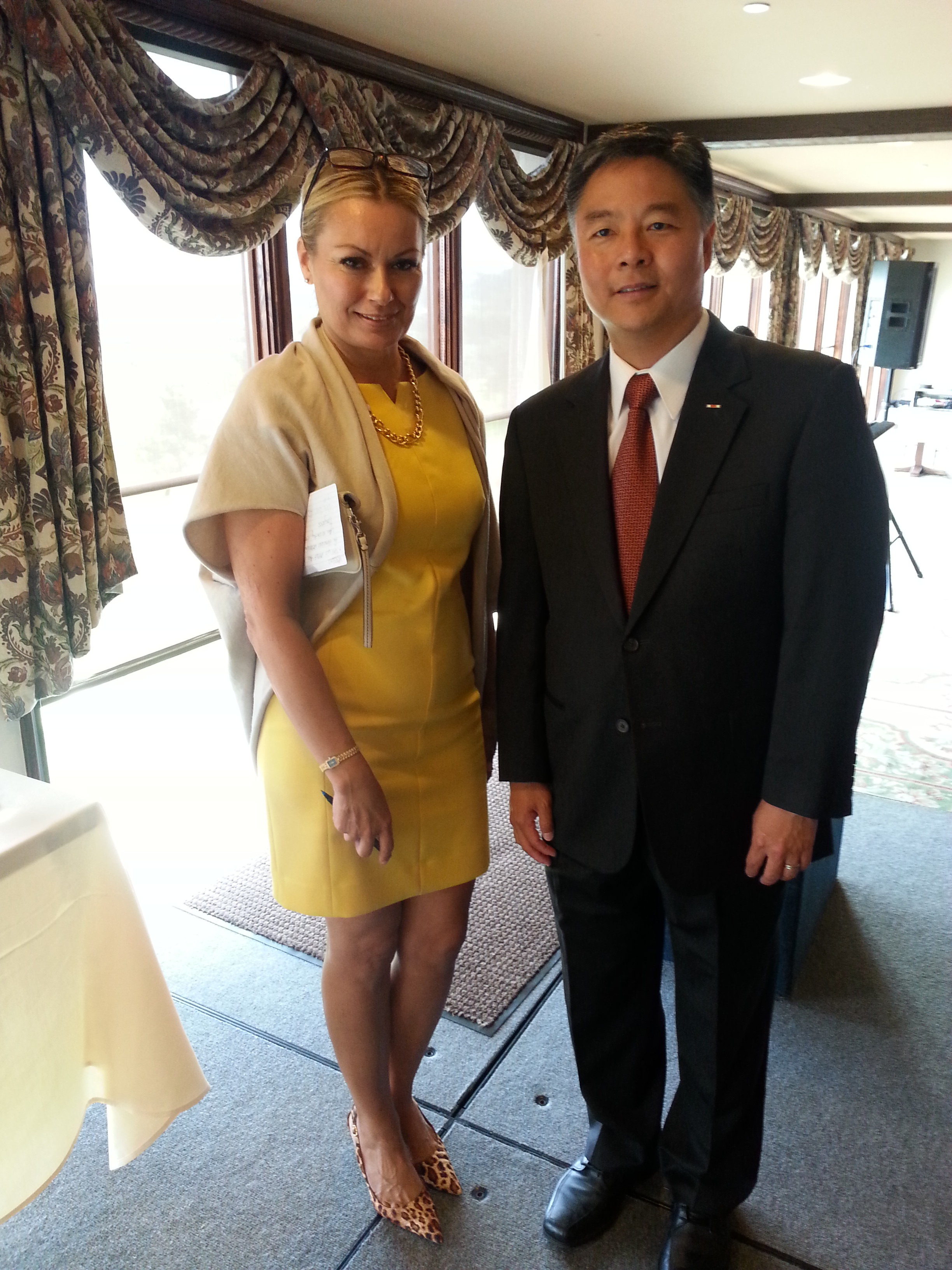 Meets with Congressman Ted Lieu